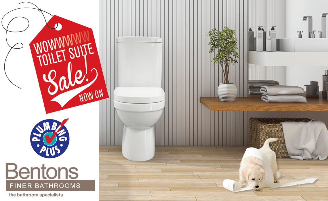 Benton's Finer Bathrooms Toilet Suites Sale