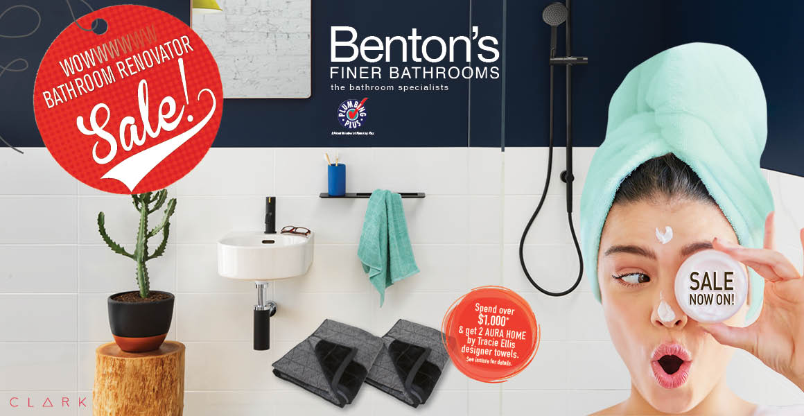 Benton's Finer Bathrooms Wow Bathroom Renovation Sale
