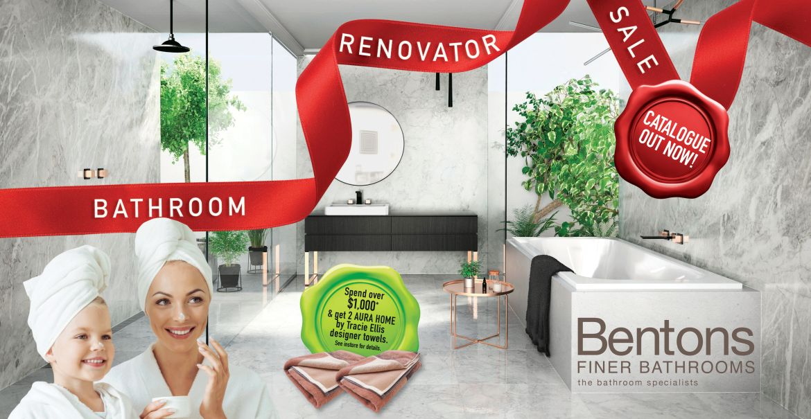 Benton's Bathroom Renovator Sale
