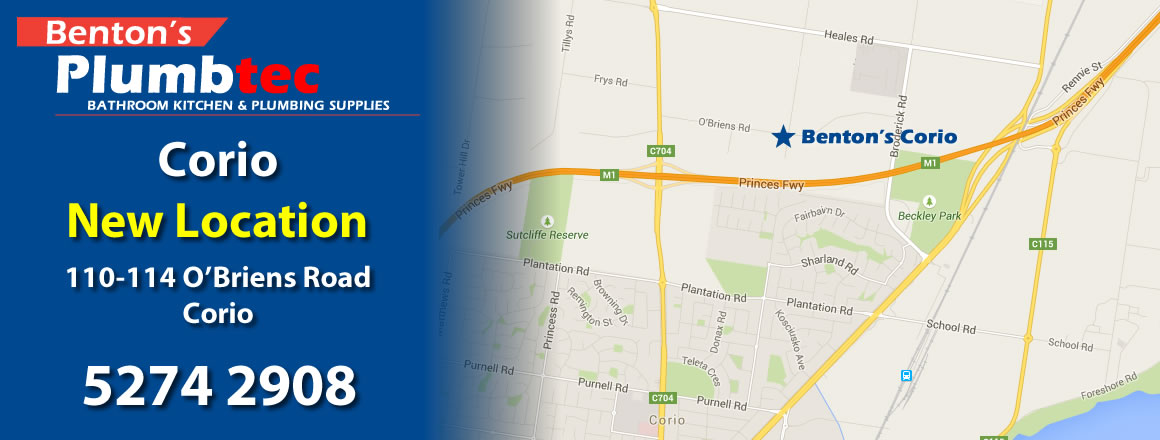 Benton's Corio New Location